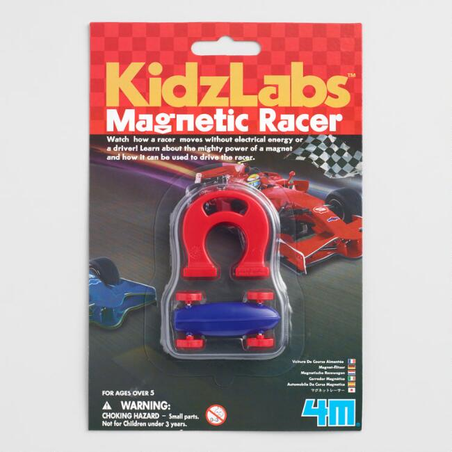 Kidz Labs Mighty Magnet Magnetic Racer