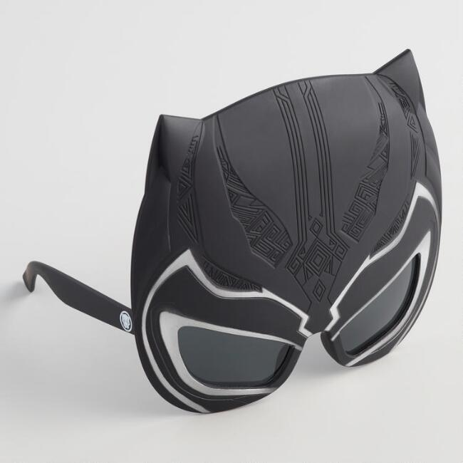 Sun-Staches Black Panther Sunglasses