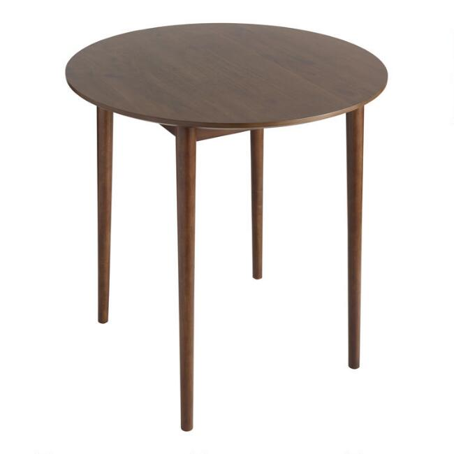 Round Wood Zarah Pub Table