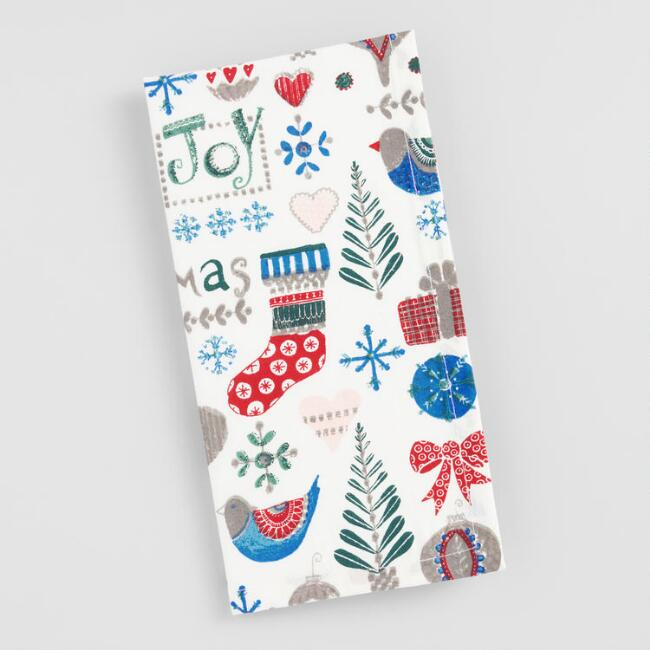 Scandi Christmas Icons Napkins Set of 4
