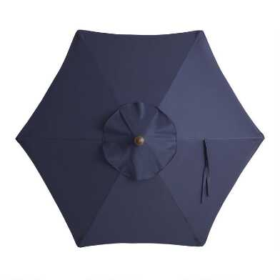 Navy Blue 5 Ft Replacement Umbrella Canopy