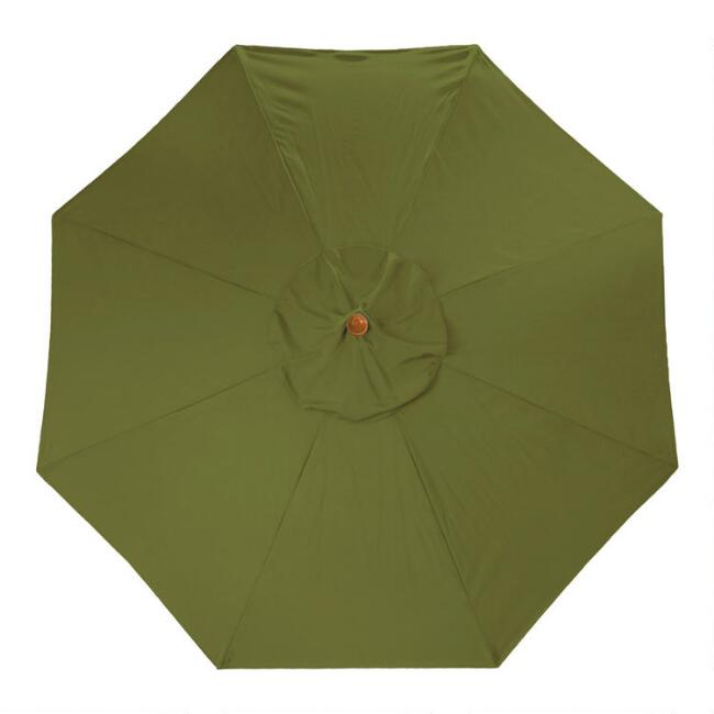 Sage Green 5 Ft Replacement Umbrella Canopy