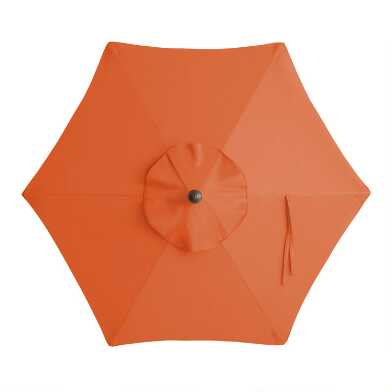 Orange 5 Ft Replacement Umbrella Canopy