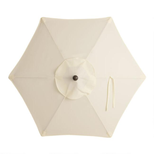 Natural 5 Ft Replacement Umbrella Canopy