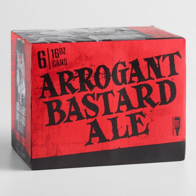 Stone Brewing Company Arrogant Bastard Ale 6 Pack