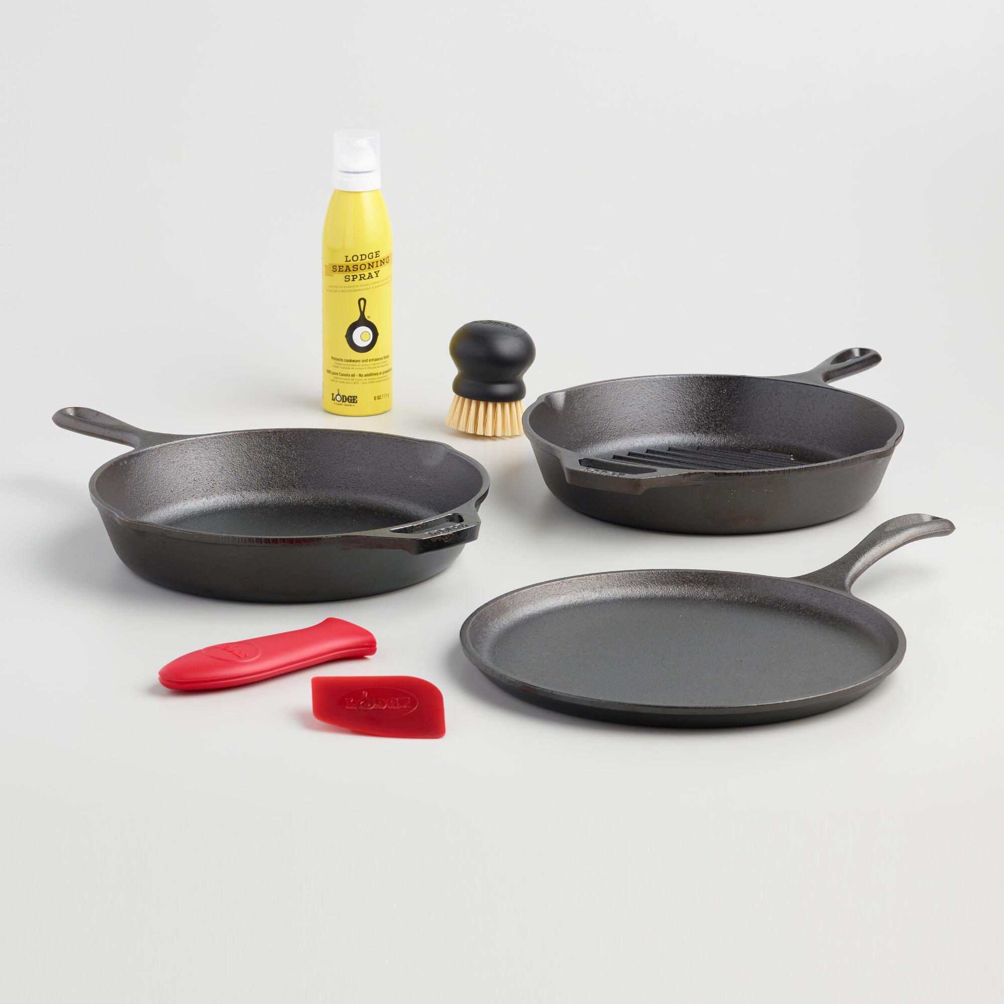 Lodge Cast Iron Gourmet Cookware Set by World Market