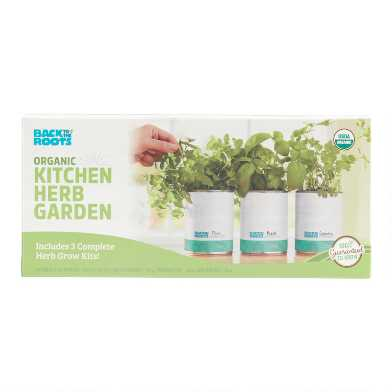Back to the Roots Garden in a Can Herb Grow Kit 3 Pack