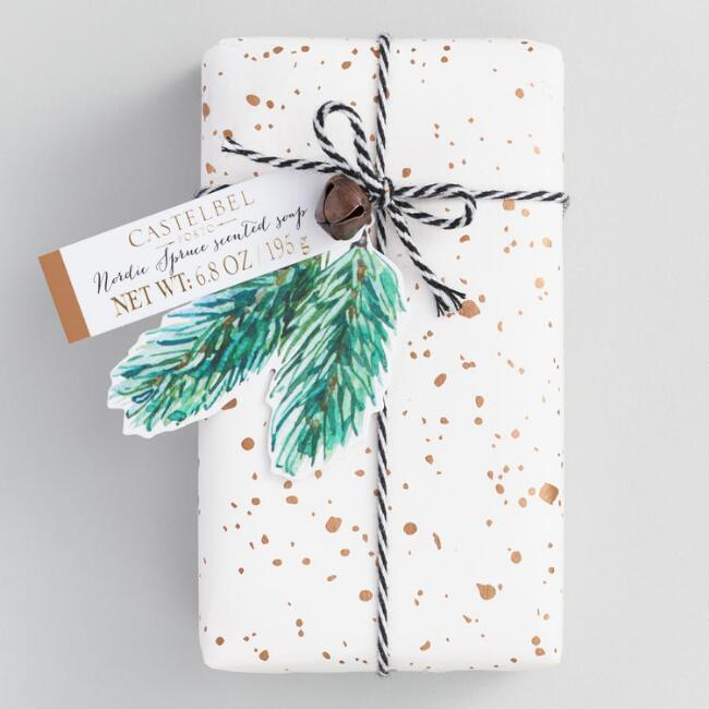 Castelbel Holiday Speckle Nordic Spruce Bar Soap