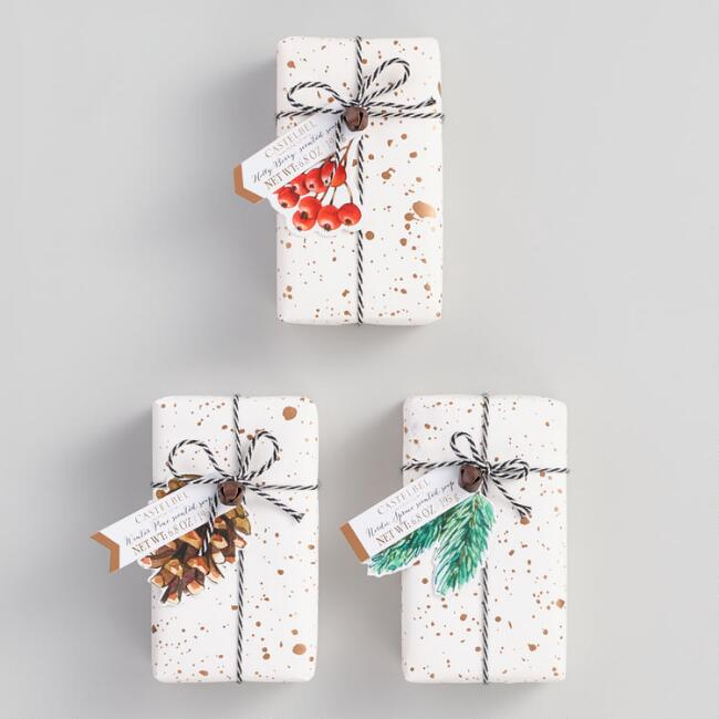 Castelbel Holiday Speckle Bar Soap Collection