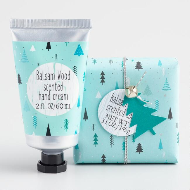 Castelbel Nordic Trees Balsam Wood Hand Care Collection