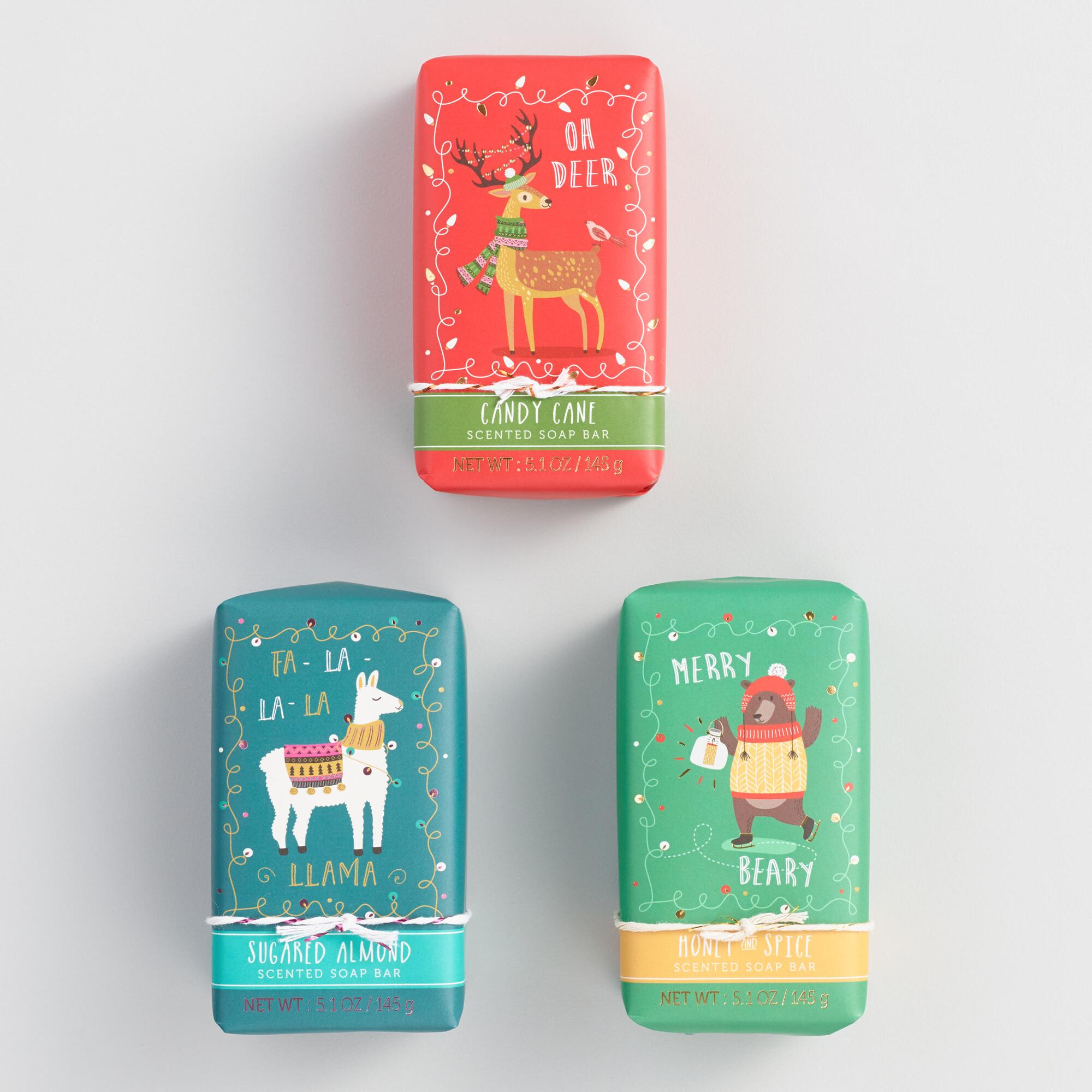 Castelbel Festive Creatures Bar Soap Collection by World Market