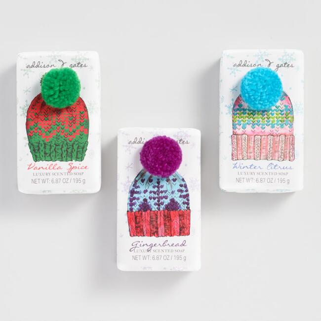 A&G Cozy Beanie Bar Soap Collection