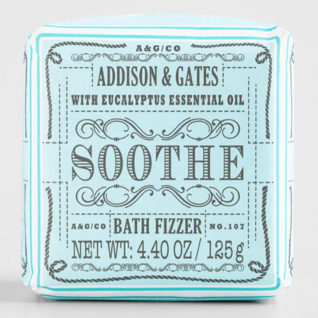 A&G Vintage Cube Soothe Peppermint Bath Bomb Set of 2