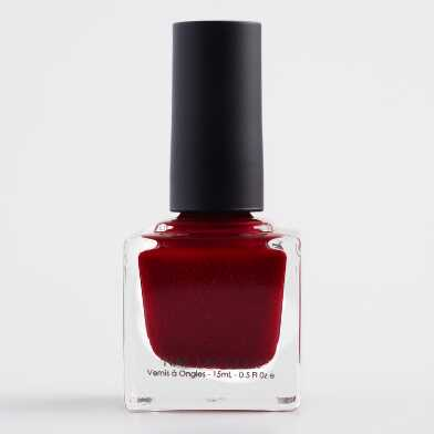 Ruby Red Sparkle Nail Polish Set of 2