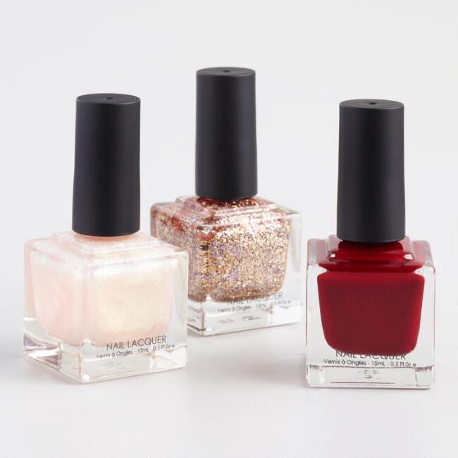 Sparkle Nail Polish Collection