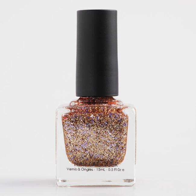 All My Love Gold Sparkle Nail Polish Set of 2