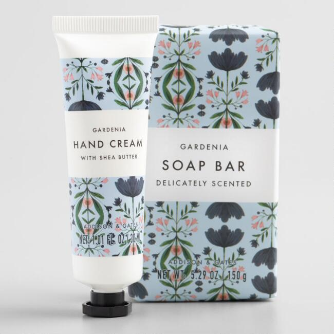 A&G Kaleidoscope Gardenia Hand Care Set