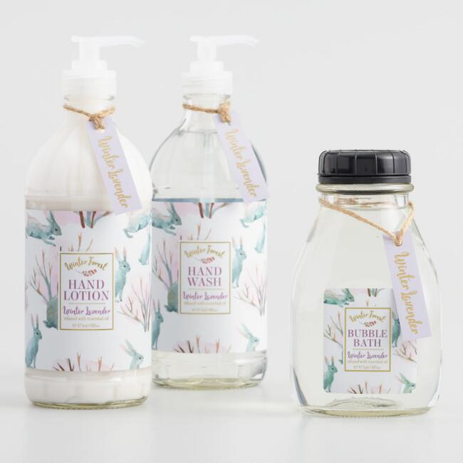 Winter Forest Lavender Bath and Body Collection