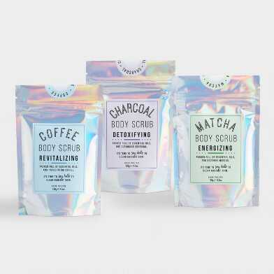 Holographic Radiant Skin Body Scrub Collection