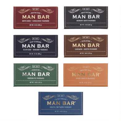 San Francisco Soap Company Man Bar Set of 2