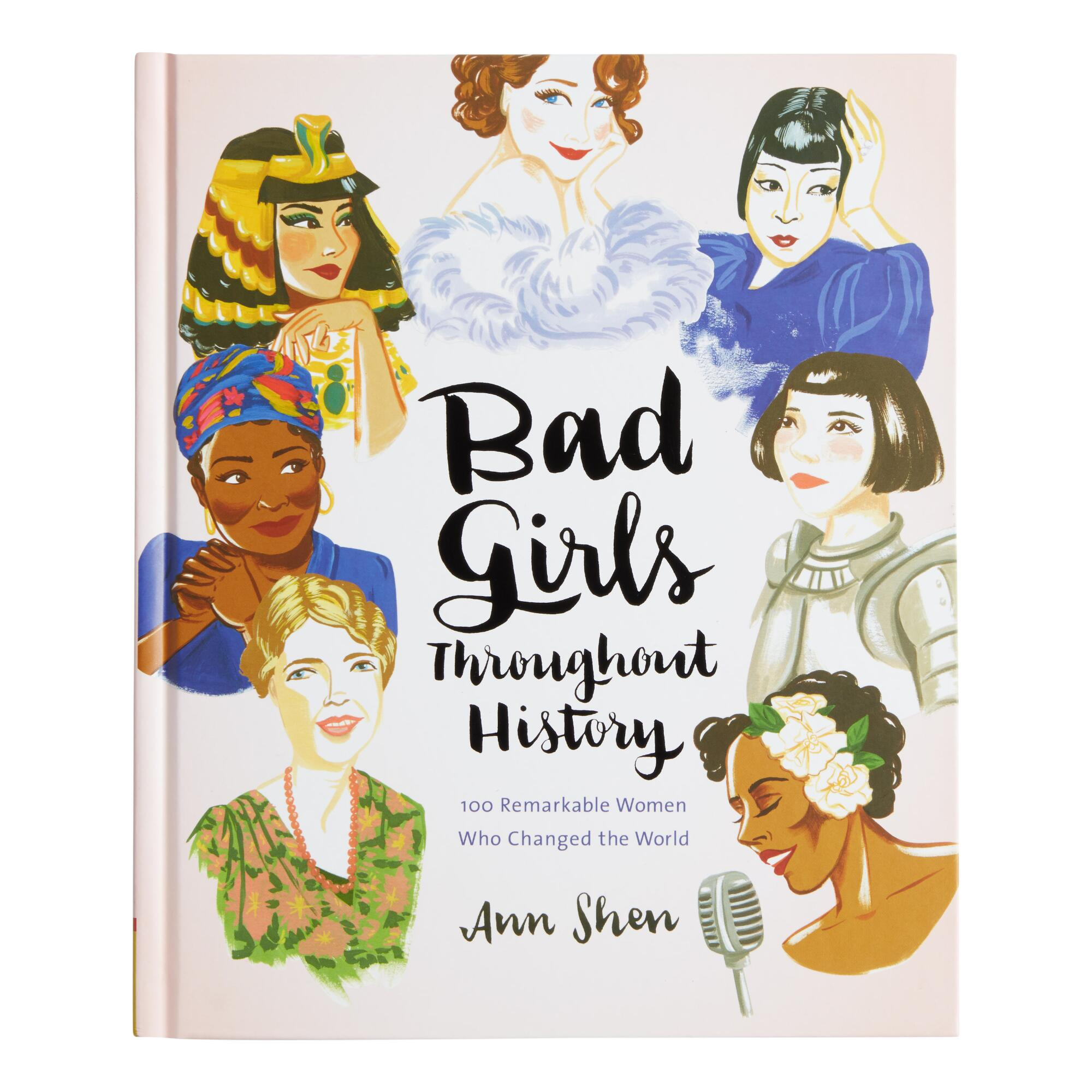 Bad Girls Throughout History Book by World Market
