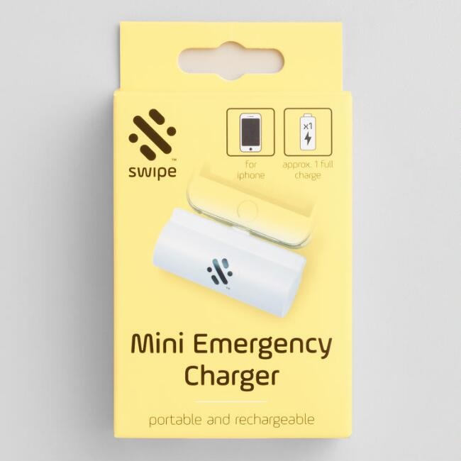 Mini Emergency Wireless Portable iPhone Charger