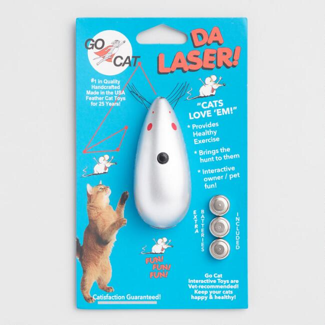 Go Cat Da Laser Cat Toy