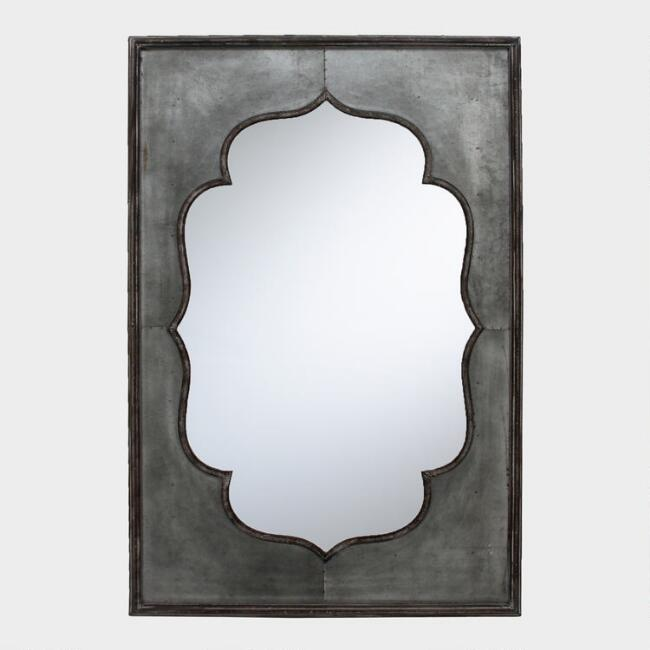 Galvanized Iron India Mirror