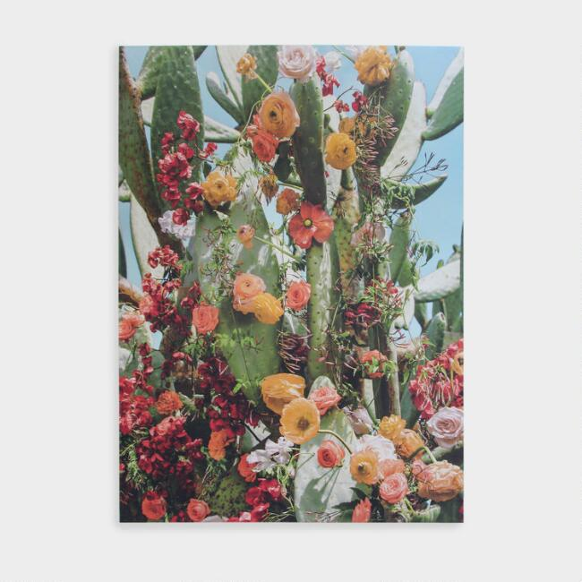 Succulent Eden Canvas Wall Art