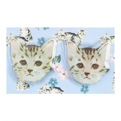 Reusable Cat Gel Eye Masks 2 Pack