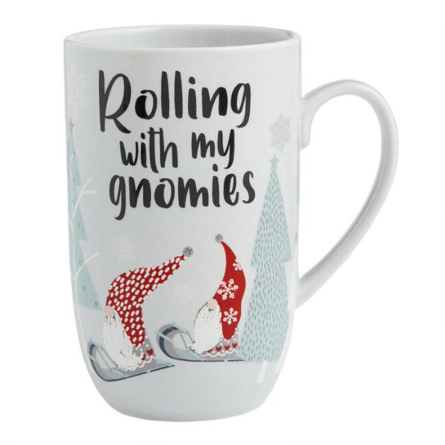 Rolling With My Gnomies Latte Mug