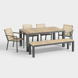 Affordable Outdoor Furniture Patio Chairs Wood Tables And Decor