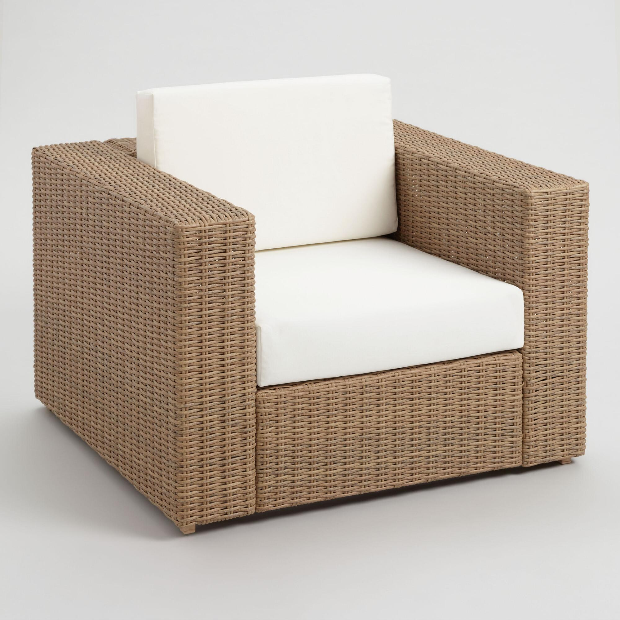 All Weather Wicker Vilamoura Outdoor Patio Occasional Chair by World Market