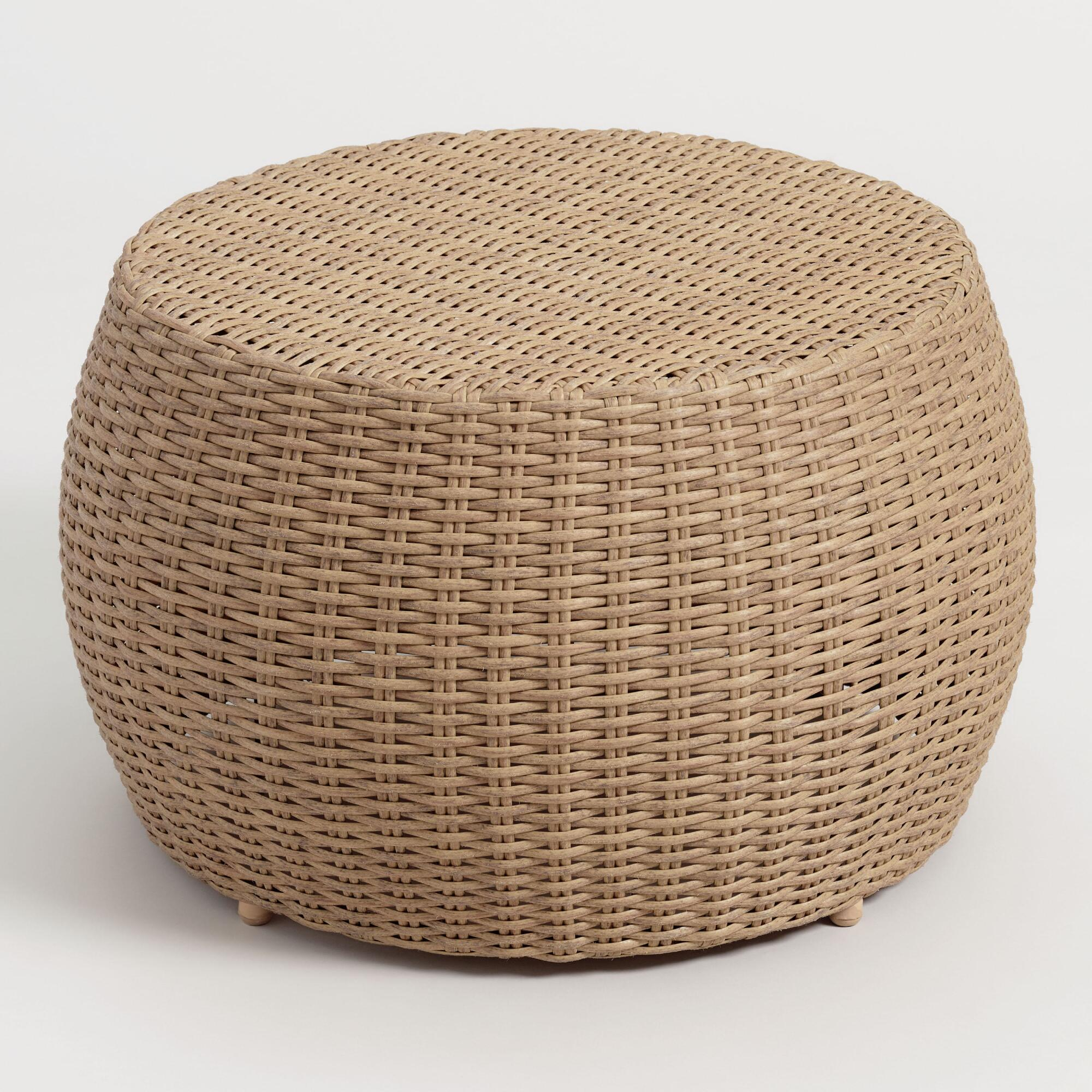 All Weather Wicker Vilamoura Outdoor Patio Coffee Table by World Market