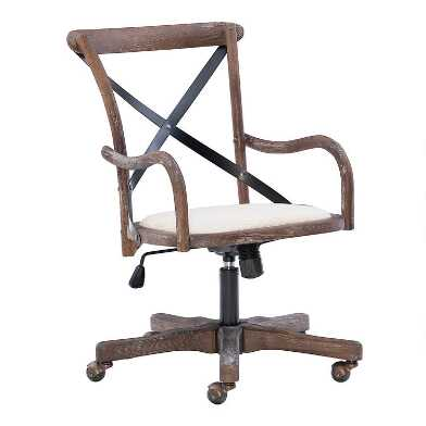 Gray Bistro Office Chair