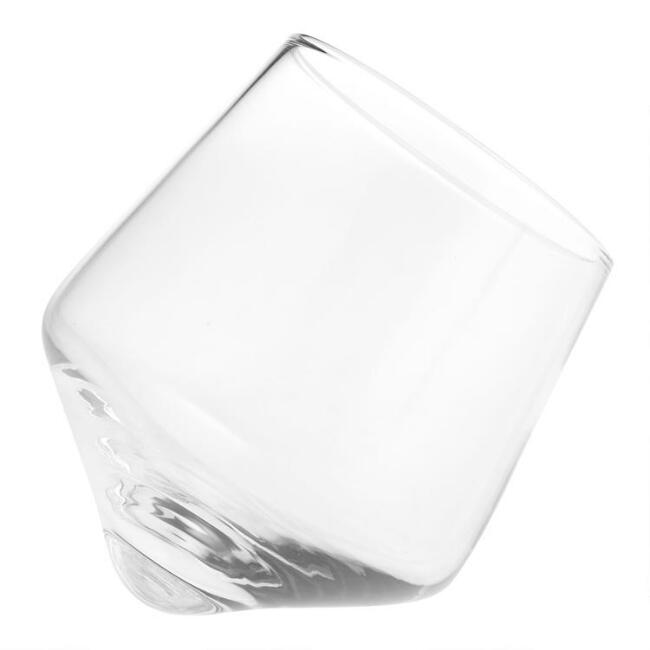 Rolling Base Whisky Glasses 2 Pack