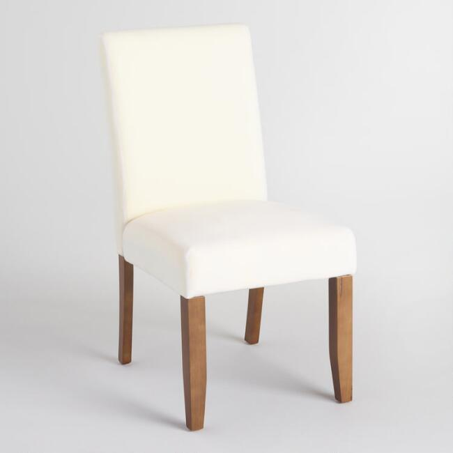 Anna Slipcover Chairs Set Of 2