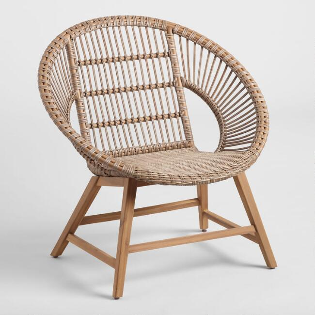 Natural String Durban Outdoor Lounge Chair