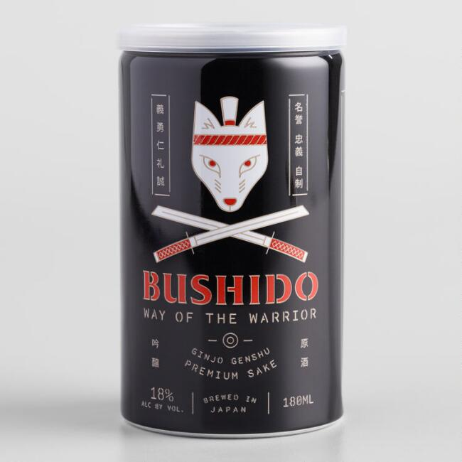 Bushido Way of the Warrior Sake 180ml Can