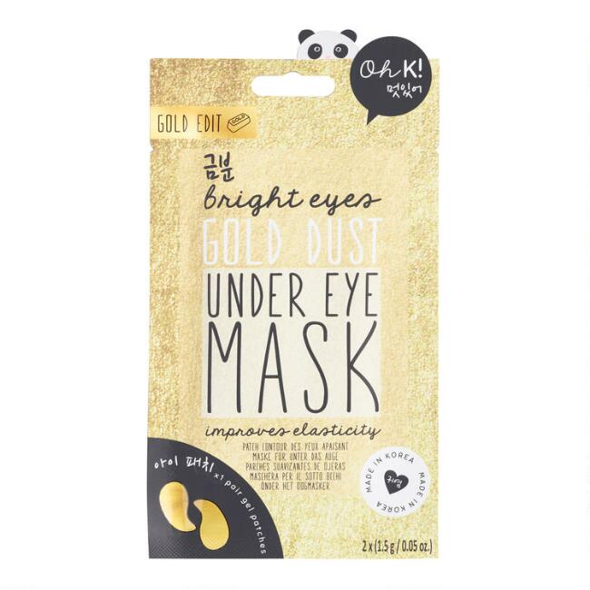 Oh K! Gold Dust Korean Beauty Under Eye Mask