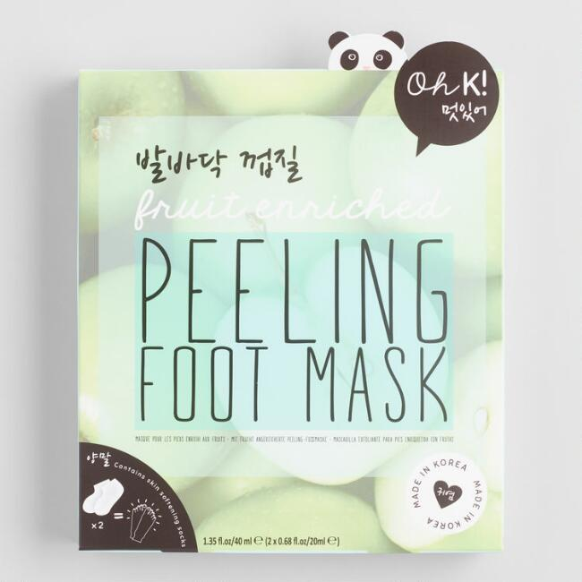 Oh K! Korean Beauty Peeling Foot Mask