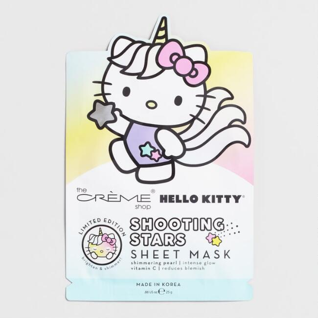 Hello Kitty Shooting Stars Korean Beauty Sheet Mask Set of 2