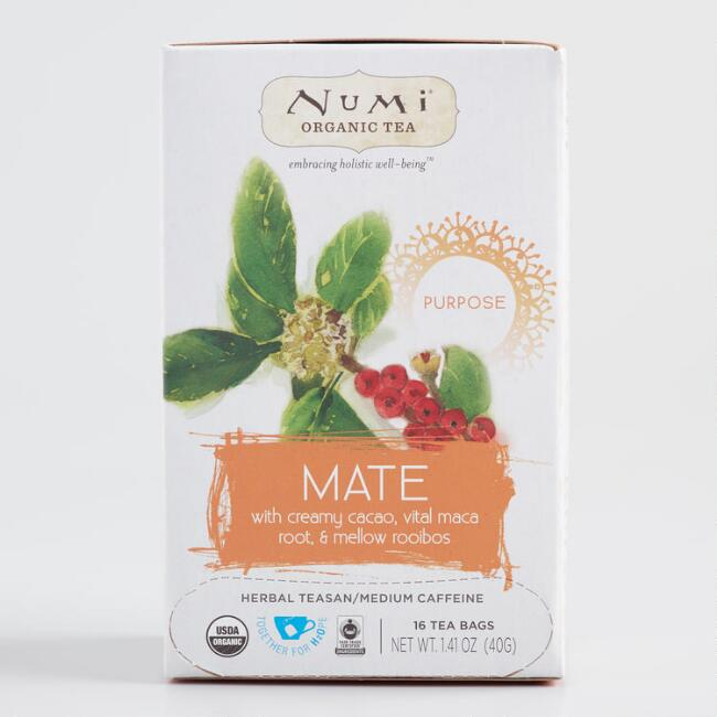 Numi Organic Holistic Mate Tea 16 Count