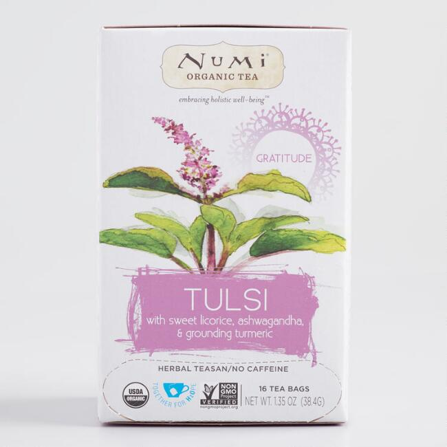 Numi Organic Holistic Tulsi Tea 16 Count