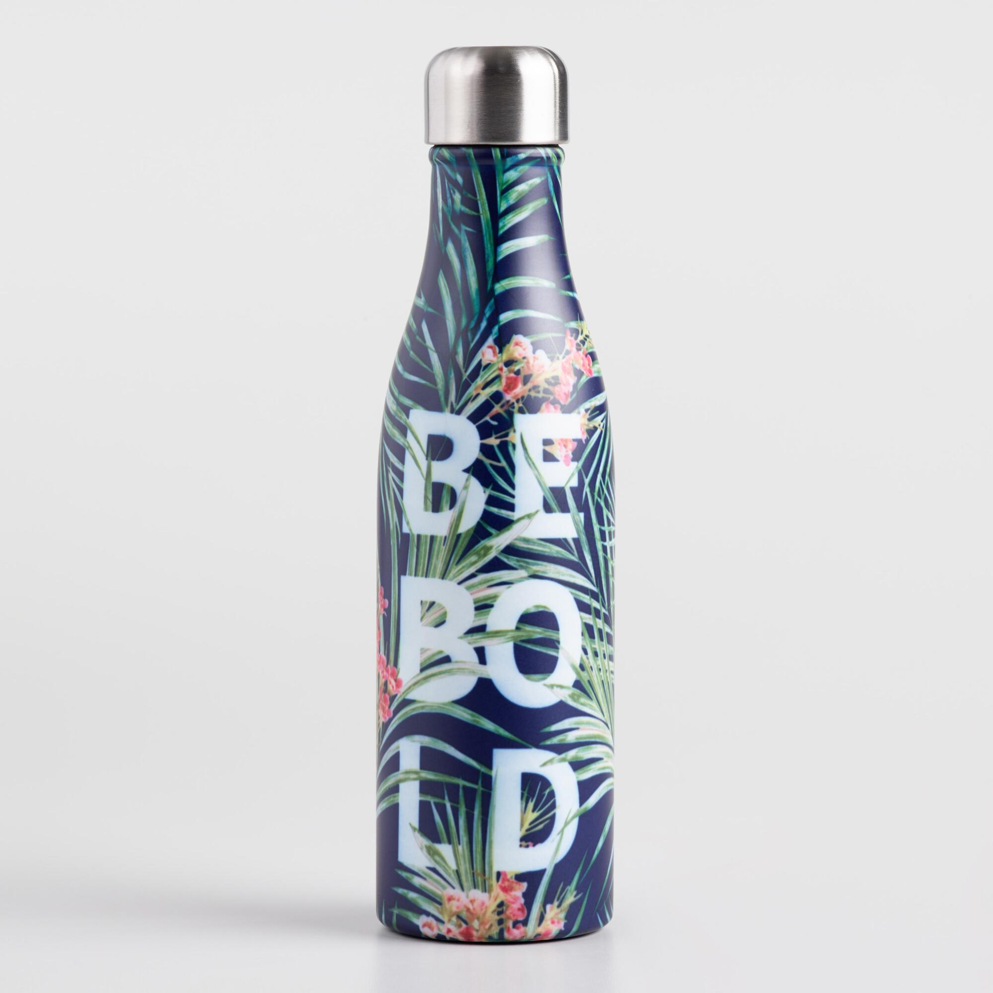 Be Bold Insulated Stainless Steel Water Bottle by World Market