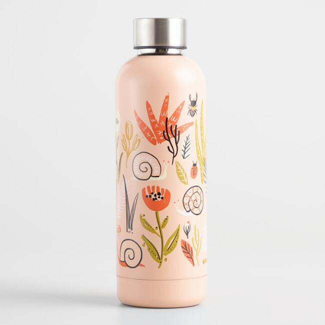 Small World Insulated Stainless Steel Water Bottle