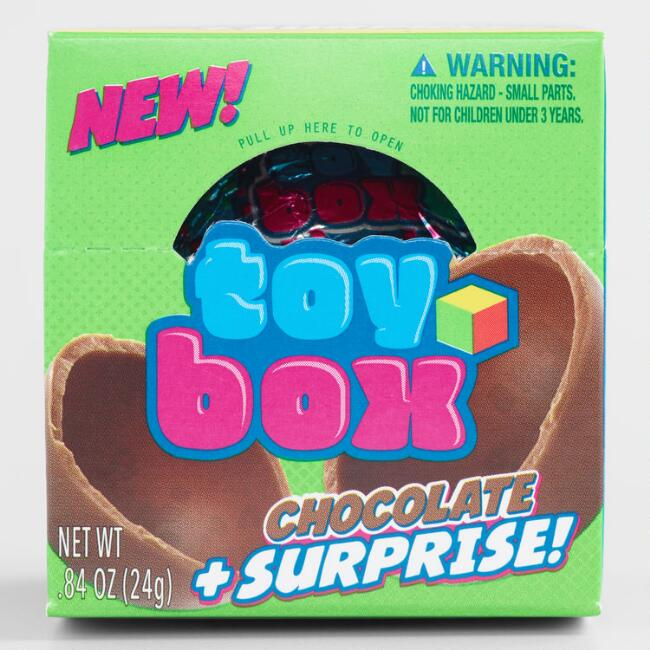 Toy Box Chocolate Surprise