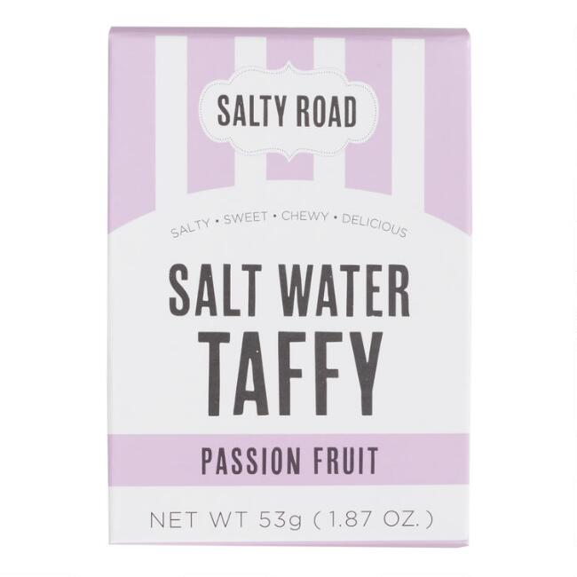 Salty Road Passion Fruit Salt Water Taffy Snack Size