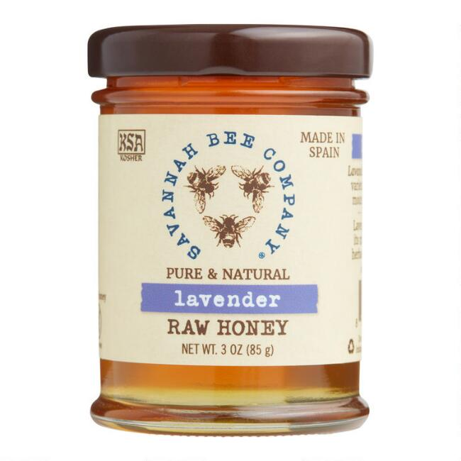 Mini Savannah Bee Company Lavender Raw Honey