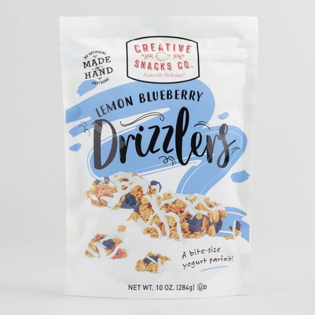 Creative Snacks Lemon Blueberry Drizzlers